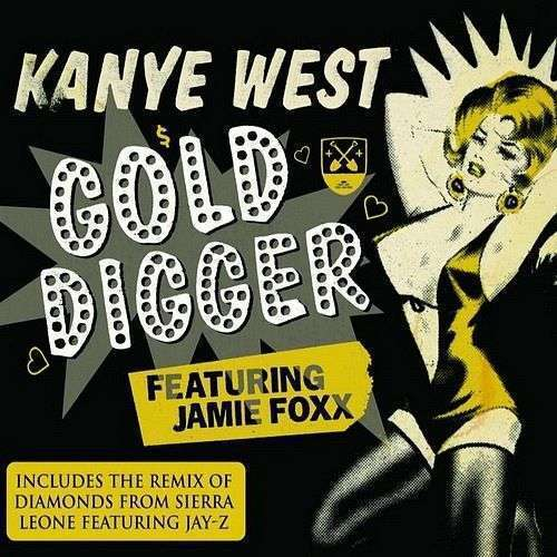 Coverafbeelding Gold Digger - Kanye West Featuring Jamie Foxx