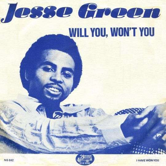 Coverafbeelding Will You, Won't You - Jesse Green