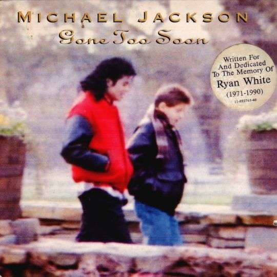 Coverafbeelding Gone Too Soon - Michael Jackson
