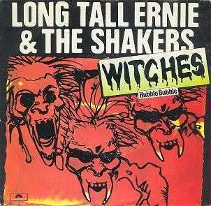 Coverafbeelding Witches - Hubble Bubble - Long Tall Ernie & The Shakers