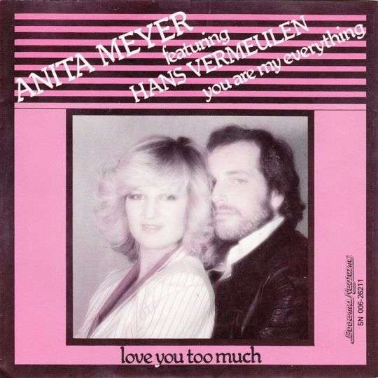 Coverafbeelding Anita Meyer featuring Hans Vermeulen - You Are My Everything