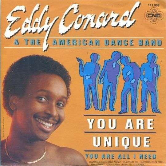 Coverafbeelding Eddy Conard & The American Dance Band - You Are Unique