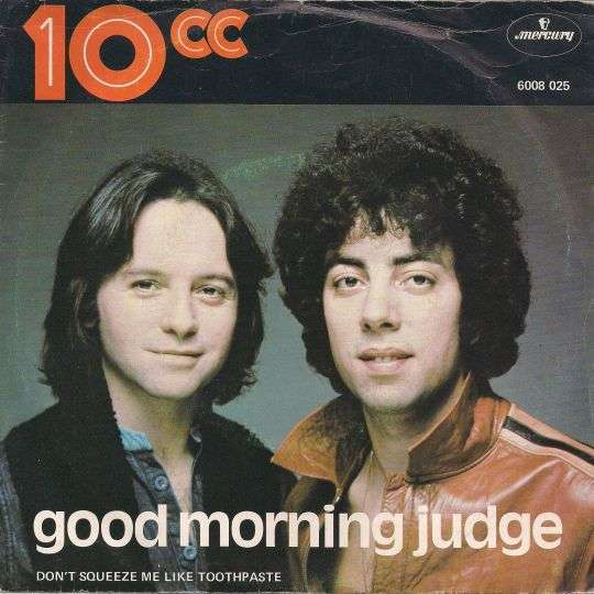 Coverafbeelding Good Morning Judge - 10cc