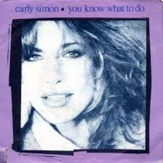 Coverafbeelding You Know What To Do - Carly Simon