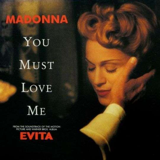 Coverafbeelding You Must Love Me - Madonna