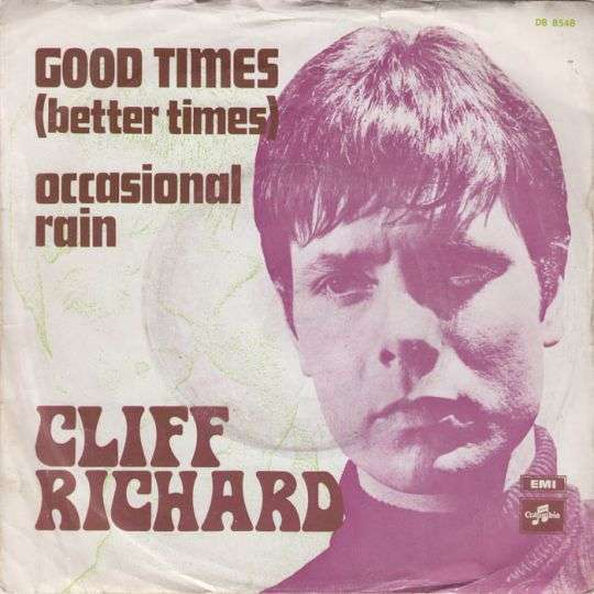 Coverafbeelding Cliff Richard - Good Times (Better Times)