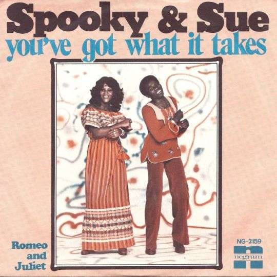 Coverafbeelding You've Got What It Takes - Spooky & Sue
