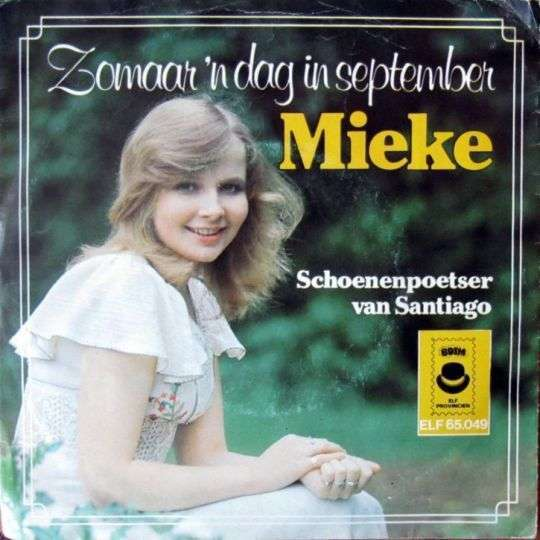 Coverafbeelding Zomaar 'n Dag In September - Mieke