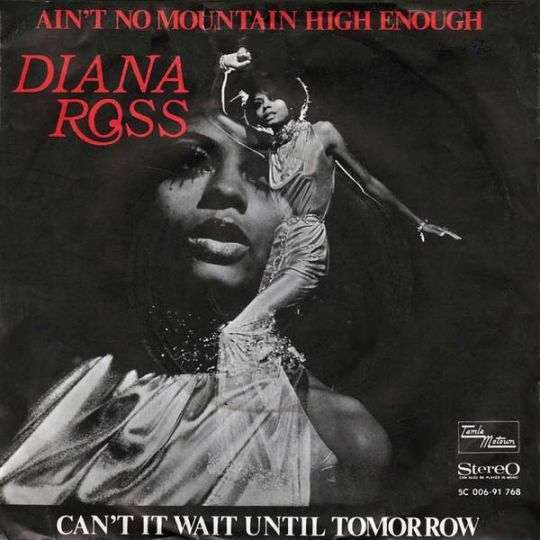 Coverafbeelding Ain't No Mountain High Enough - Diana Ross