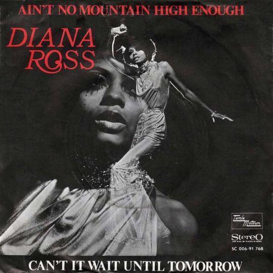 Coverafbeelding Diana Ross - Ain't No Mountain High Enough