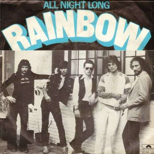 Coverafbeelding Rainbow - All Night Long