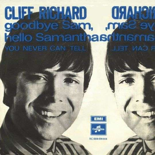 Coverafbeelding Goodbye Sam, Hello Samantha - Cliff Richard