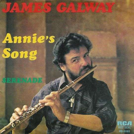 Coverafbeelding James Galway - Annie's Song