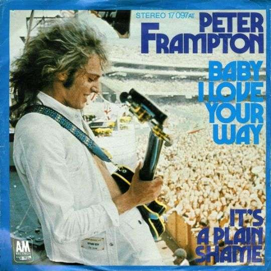 Coverafbeelding Baby I Love Your Way - Peter Frampton