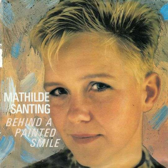Coverafbeelding Behind A Painted Smile - Mathilde Santing