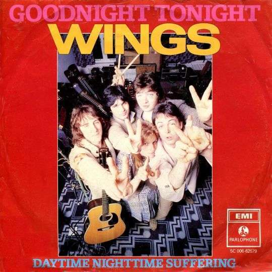 Coverafbeelding Goodnight Tonight - Wings