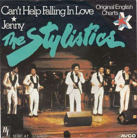 Coverafbeelding Can't Help Falling In Love - The Stylistics