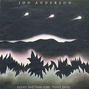 Coverafbeelding Easier Said Than Done - Jon Anderson
