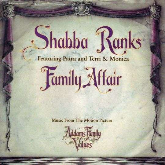 Coverafbeelding Family Affair - Shabba Ranks Featuring Patra And Terri & Monica