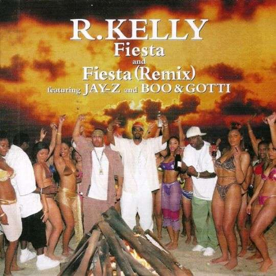 Coverafbeelding R. Kelly featuring Jay-Z and Boo & Gotti - Fiesta (Remix)