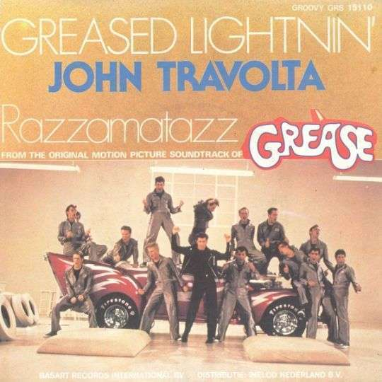 Coverafbeelding Greased Lightnin' - John Travolta