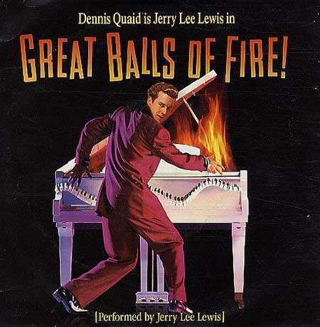 Coverafbeelding Great Balls Of Fire! [New 1989 Version] - Jerry Lee Lewis