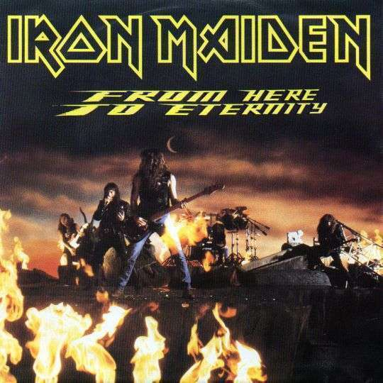 Coverafbeelding From Here To Eternity - Iron Maiden