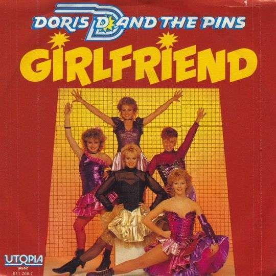 Coverafbeelding Girlfriend - Doris D And The Pins