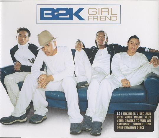 Coverafbeelding Girlfriend - B2k