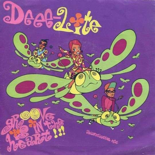 Coverafbeelding Deee-Lite - Groove Is In The Heart!!!