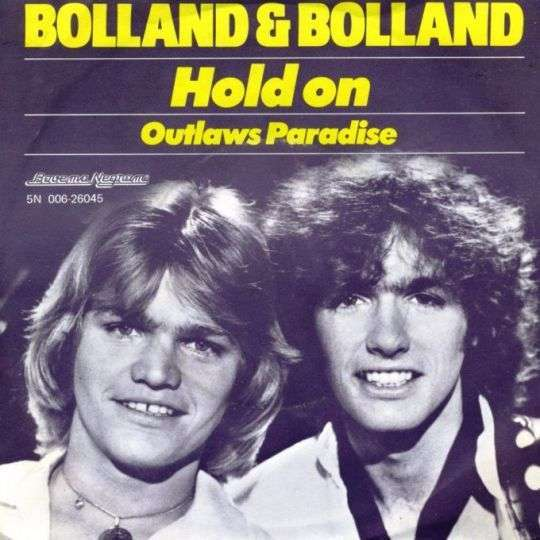 Coverafbeelding Hold On - Bolland & Bolland