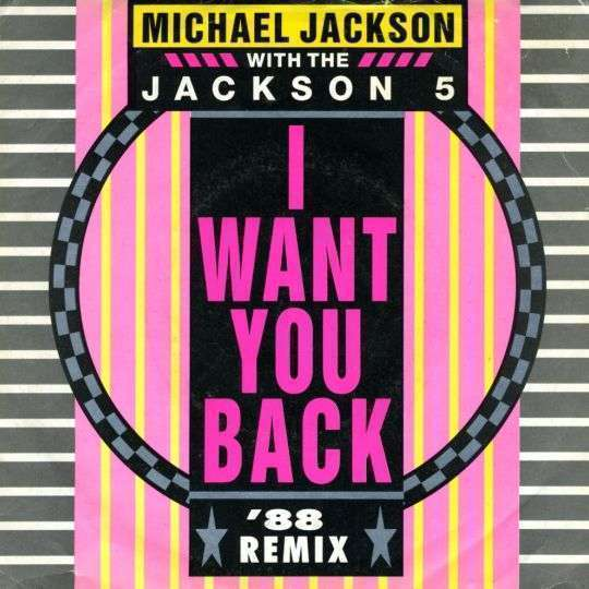 Coverafbeelding Michael Jackson with The Jackson 5 - I Want You Back - '88 Remix