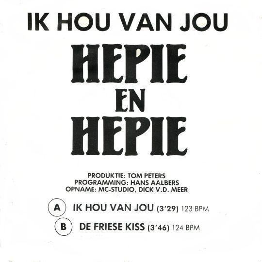 Coverafbeelding Ik Hou Van Jou - Hepie En Hepie