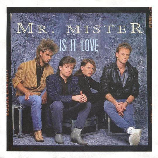 Coverafbeelding Is It Love - Mr. Mister