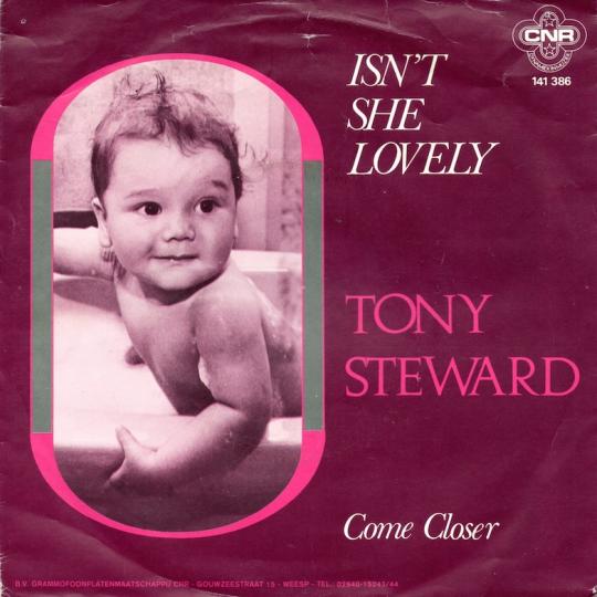 Coverafbeelding Isn't She Lovely - Tony Steward