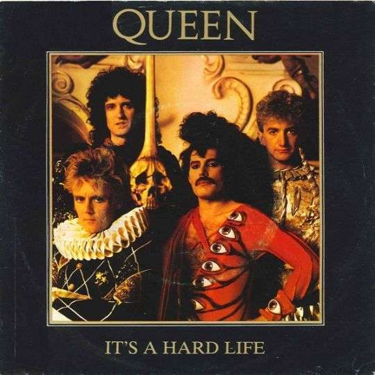 Coverafbeelding Queen - It's A Hard Life