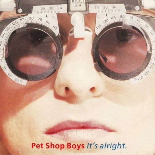 Coverafbeelding It's Alright - Pet Shop Boys