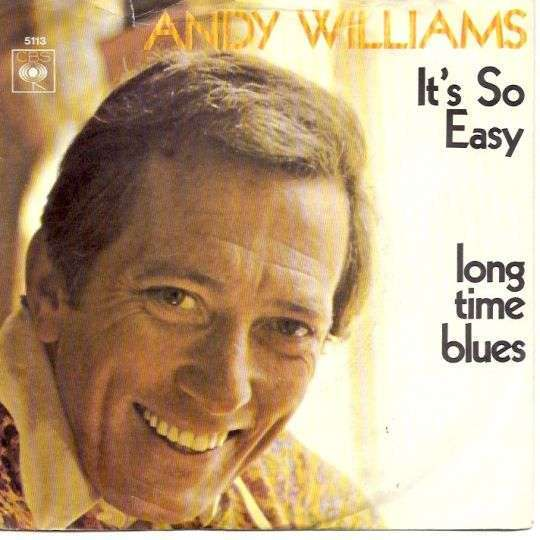 Coverafbeelding It's So Easy - Andy Williams