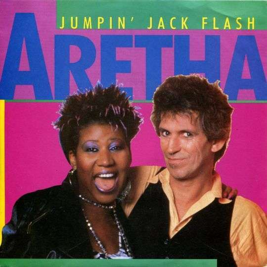 Coverafbeelding Jumpin' Jack Flash - Aretha