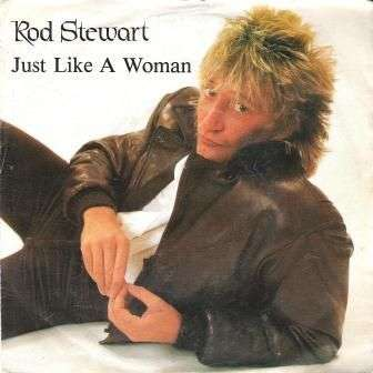 Coverafbeelding Just Like A Woman - Rod Stewart
