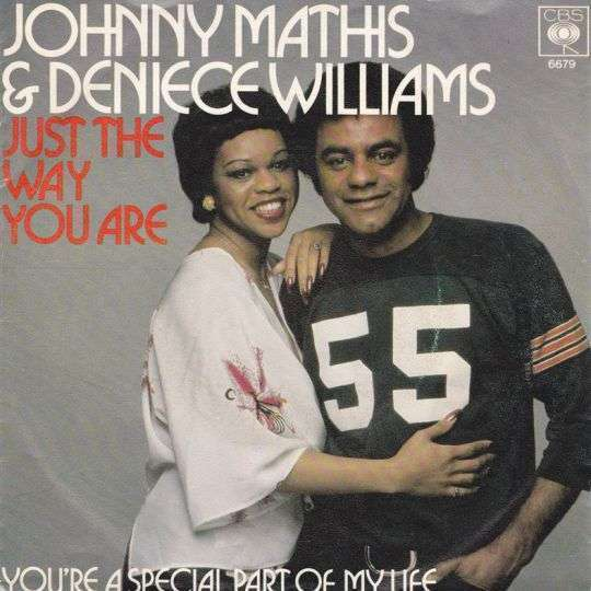 Coverafbeelding Johnny Mathis & Deniece Williams - Just The Way You Are
