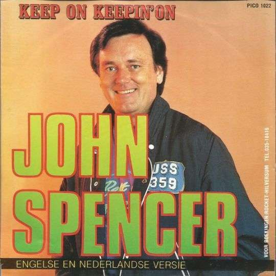 Coverafbeelding Keep On Keepin' On - John Spencer