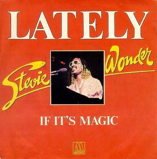 Coverafbeelding Lately - Stevie Wonder