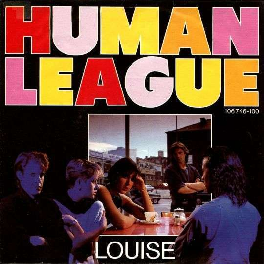 Coverafbeelding Louise - Human League