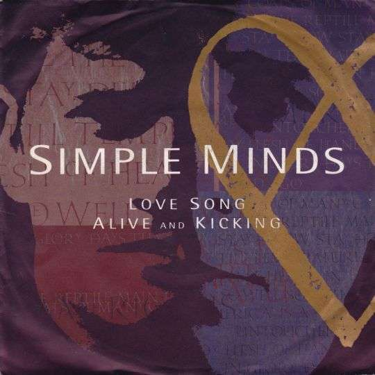 Coverafbeelding Simple Minds - Love Song