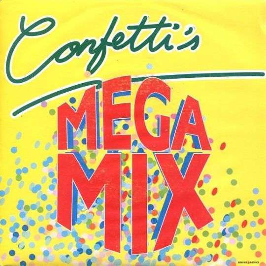 Coverafbeelding Mega Mix - Confetti's
