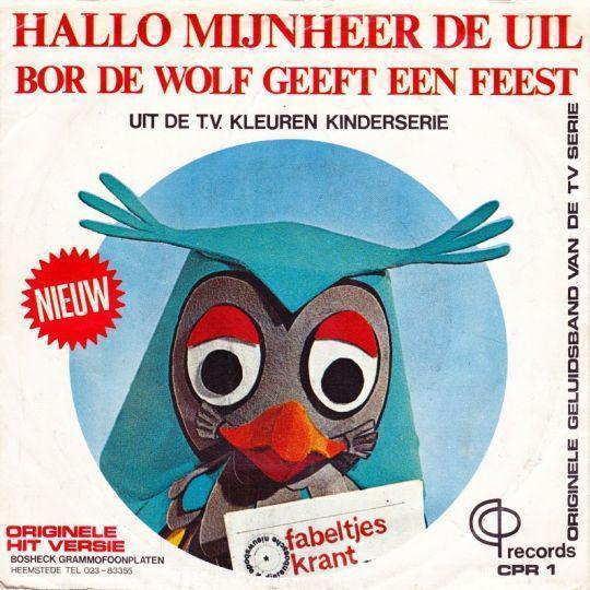 Coverafbeelding Fabeltjeskrant - Hallo Mijnheer De Uil