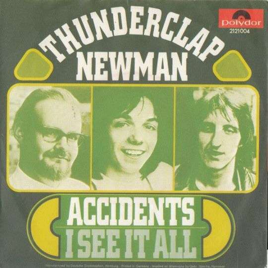 Coverafbeelding Thunderclap Newman - Accidents