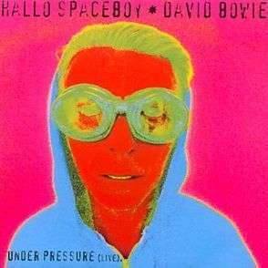 Coverafbeelding Hallo Spaceboy - David Bowie