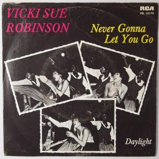 Coverafbeelding Never Gonna Let You Go - Vicki Sue Robinson